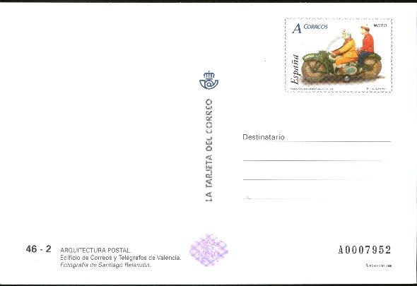 Presentacion t c arquitectura postal en valencia for Correo postal mas cercano